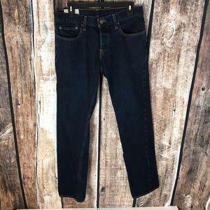 Hollister Men's Button Fly Jeans 32Wx32L
